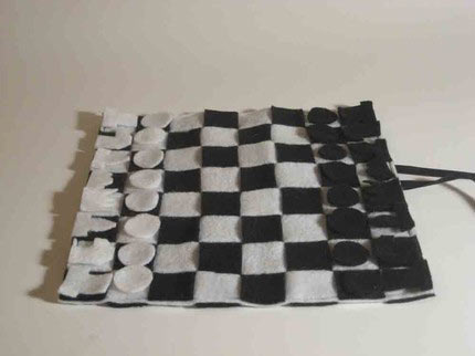 camping chess set