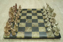 Carved Fantasy Animal Chess Boards And Sets