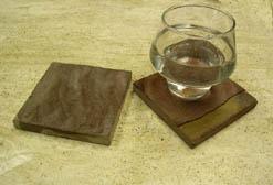 sandstone drink coasters