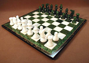 green chess sets