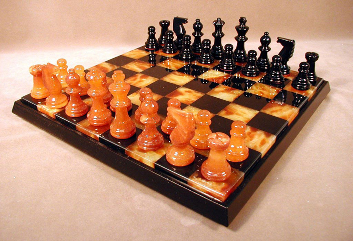 Unique Stone Chess Sets