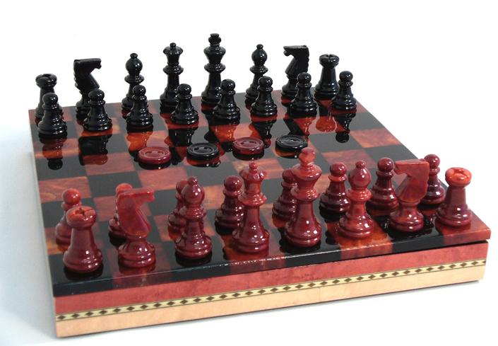Unique stone chess sets - Granite chess set ...