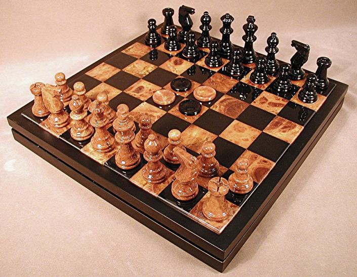 Nice Stylish Chess Set