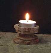 tea candle stand