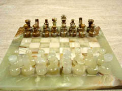 Stone Chess pieces