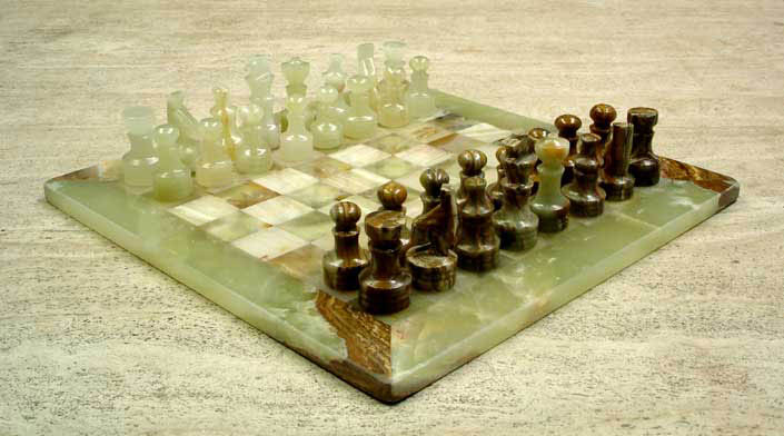 Onyx Stone Chess Sets