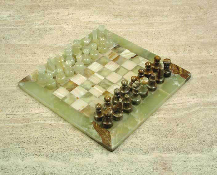Marble chess sets - Granite chess pieces ...