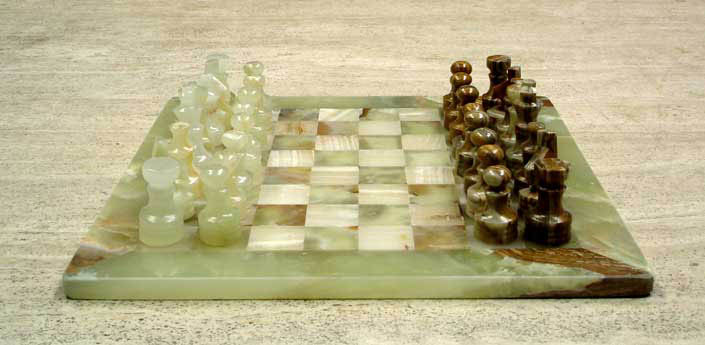 Stone chess boards - Granite chess pieces ...