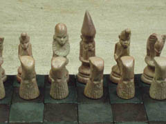 village chess sets