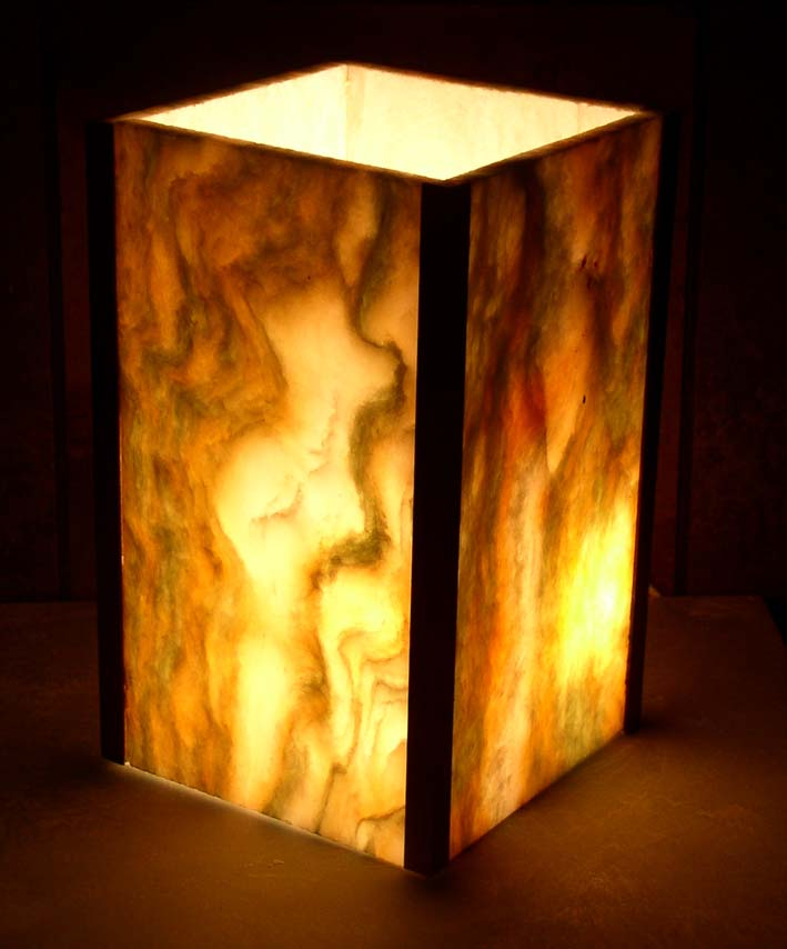 The Illuminated Onyx Stone Collection