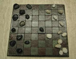 Stone Checkers Sets
