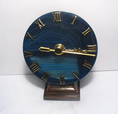agate decorative clocks