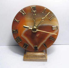 agate brown clocks