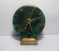 unusual mantel clocks
