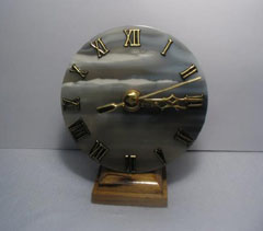 agate mantel clocks