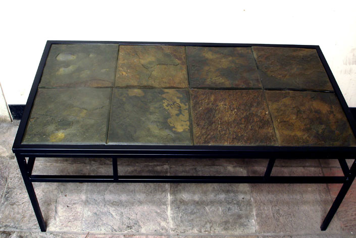 Custom stone coffee tables Stone coffee table