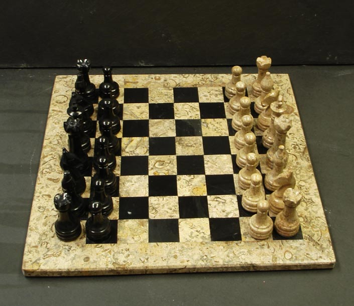 Unique stone chess sets - Granite chess pieces ...