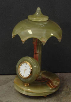umbrella mantel clocks