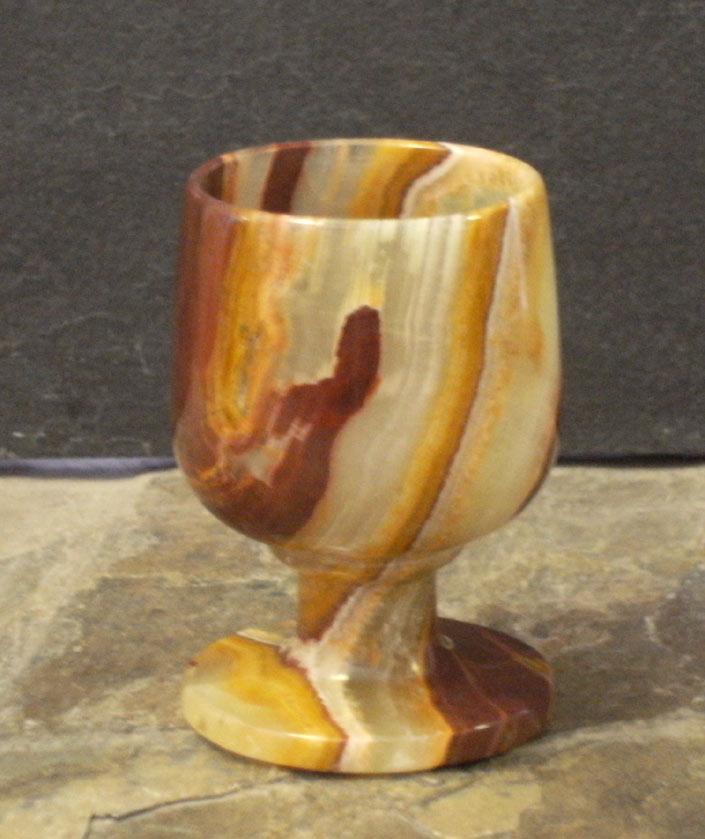 Unique Onyx Stone Shot Glasses