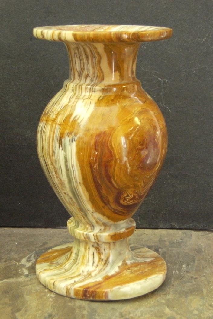 Onyx Stone Vases 8 X 4