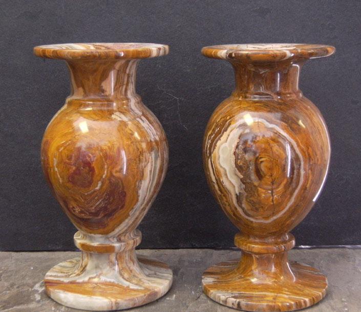 Onyx Stone Vases