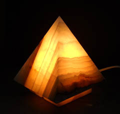 decorative onyx lamps