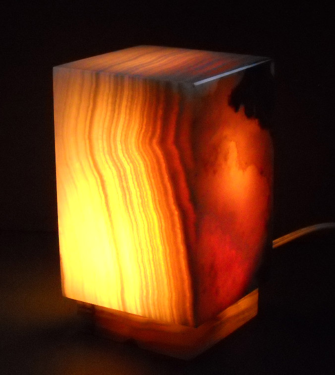 Square onyx lamps table lamps square onyx lamps mozeypictures Images