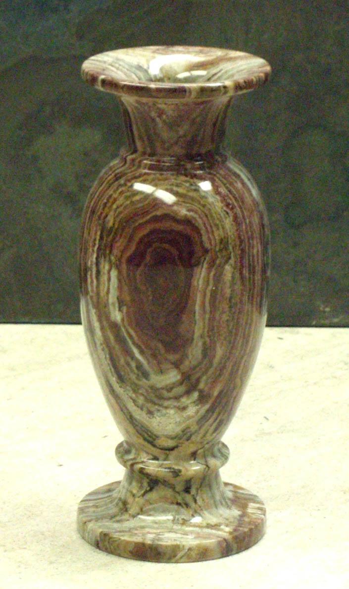 Black Zebra Marble Bud Vases