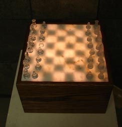 illuminated chess sets