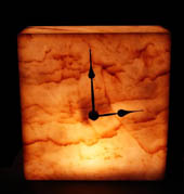 Afyion Gold Onyx wall clocks