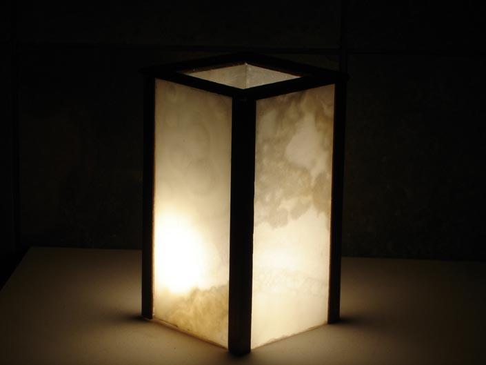 Onyx Stone Lamps