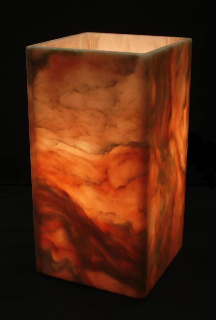 Illuminated Onyx Stone Mood Lights