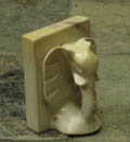 soapstone book ends