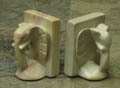 natural stone bookends
