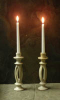 Split Stone Candle Holders :  candle holders art stone candles stone candle holders