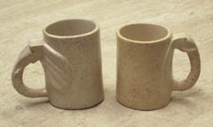 Natural Stone Coffee Mugs :  coffee mugs stone beverage stone cup stone glass