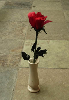 stone bud vase