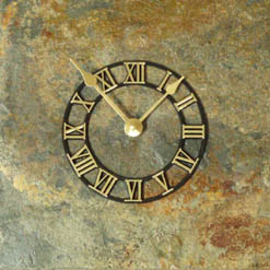 decorative stone clocks