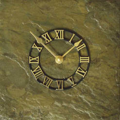 slate wall clocks