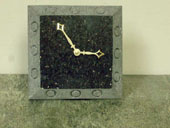 granite desk clocks