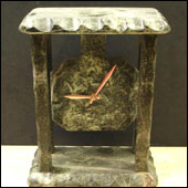 oakwood marble clocks