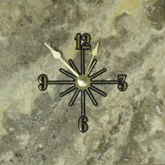 moon stone wall clocks