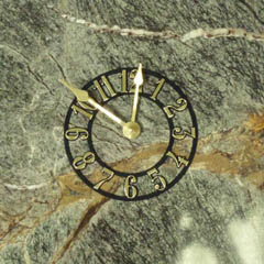 MARBLE WALL CLOCKS
