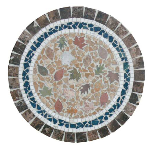 Stone Ring To Your Tables Mosaic Design For Just A Few Dollars More