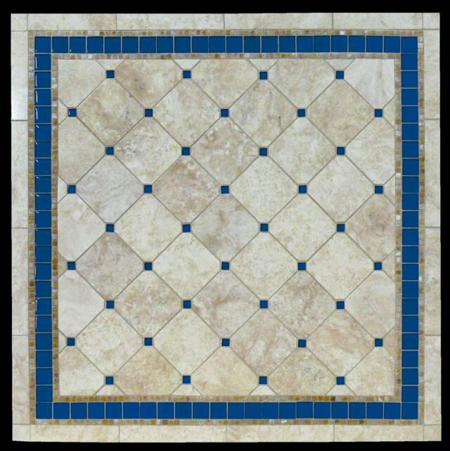 Mosaic Stone Tables