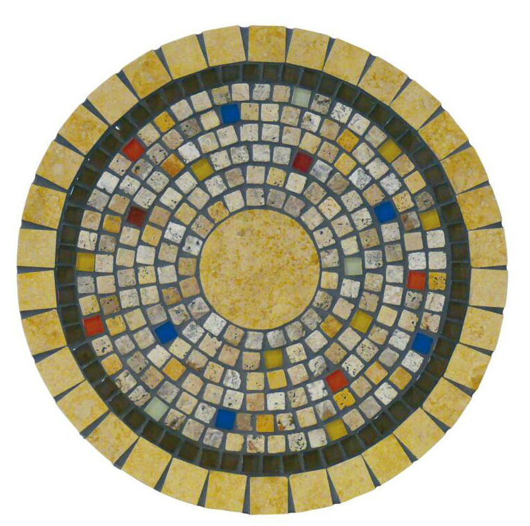 Add An Illuminated Onyx Stone Ring To Your Tables Mosaic Design For
