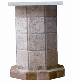 natural stone table bases