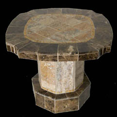stone table base