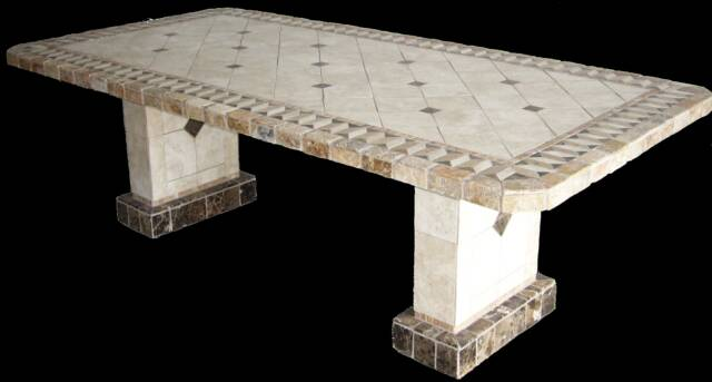 Pompeii Natural Stone Table Bases